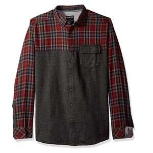 Kavu Men's South Fork Button Down Flannel Shirt